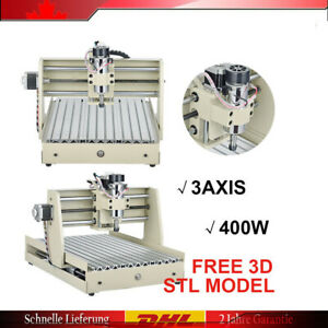 Hot Engraving Milling Drilling Machine Parallel 3 Axis Cnc 3040z Router Pcb New