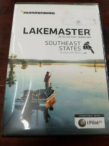 Humminbird Lakemaster Southeast States Map Card v 4.0