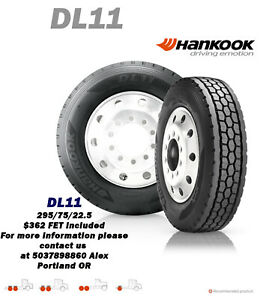 Hankook D11 285 75r24 5 14 Ply Tires