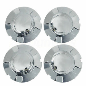 16 Inch Chrome Wheel Center Hub Caps For 1998 2003 Ford Expedition 4 6l 5 4l
