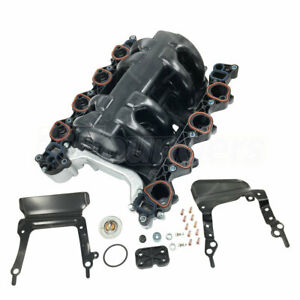 Intake Manifold W Gasket Thermostat For 96 00 Ford Lincoln Mercury 4 6l 615 178