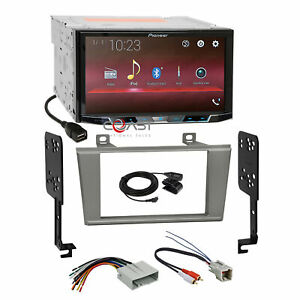 Pioneer 7 Usb Bt Stereo Sil Dash Kit Amp Harness For Ford Thunderbird Lincoln