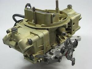 Chevy Chevelle Holley Carburetor 3878261 Eh 4bbl Off 396ci 182 3310 933 Oe