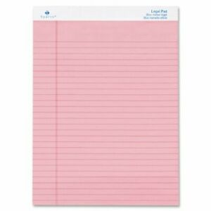 Sparco Spr 01076 Pink Legal Ruled Pad 50 Sheet s 16lb Ruled 8 5 X