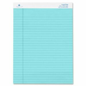 Sparco Spr 01078 Colored Pad 50 Sheet s 16lb Legal Ruled 8 5 X 11 75