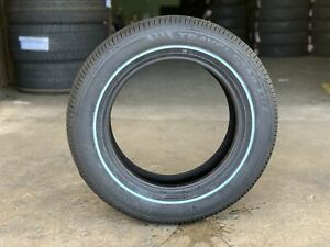 2 New 225 60 16 Travelstar Thin White Wall Tires Lincoln Cadillac Crown Vic