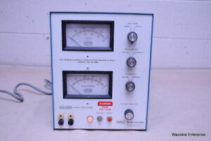 Buchler Instrument Searle Voltage And Current Regulated Power Supply Model 3 11