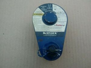 Mckissick N 404 3 Tail Board Snatch Block Rigging Wire Rope Pulley