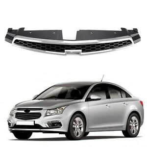Grille Overlay Front Upper Grill Inserts Trim Covers For 2009 2014 Chevy Cruze