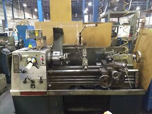 Clausing Colchester Geared Head Straight Bed Engine Lathe 17 X 40