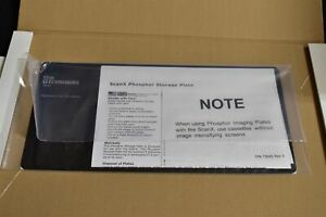 New Unused Scanx N a 12x6 Phosphor Plate For Digital Imaging Dental X ray Scans