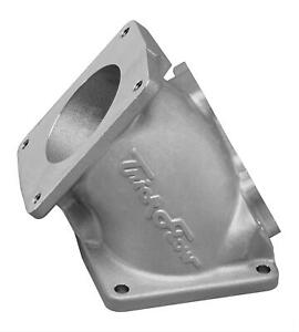 Trick Flow Throttle Body Adapter Aluminum Silver Powdercoated Ford Mustang Each
