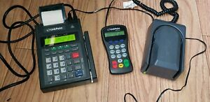 Credit Card Reader With Pinpad And Check Reader Preowned