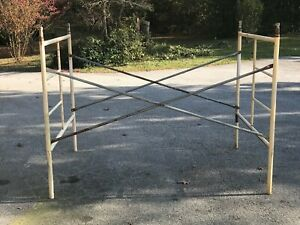 Scaffolding 5 X 5 X 7 Section 2 Ladder Frames 2 Cross Braces 4 Stack Pins