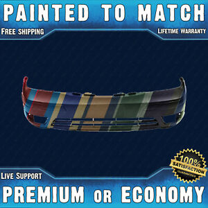 New Painted To Match Front Bumper Cover Replacement For 2005 2007 Ford Focus