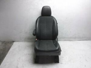 2014 Toyota Sienna Se Front Driver Seat W o Airbag Black Leather Cracking