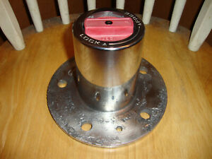 87 88 Ford Top Hat Flange Mount Manual Locking Hub F150 Bronco 1 2 Ton Dana 44