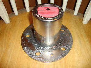87 88 Ford Top Hat Flange Mount Manual Locking Hub F150 Bronco 1 2 Ton Dana 44 1