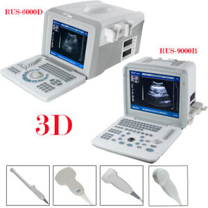 Full Digital Ultrasound Diagnostic System 4 Probes Ultrasound Scanner For Human