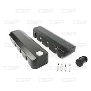 Tsp Ls1 Ls2 Ls3 Fabricated Black Aluminum Ignition Coil Covers Chevy Fill Neck