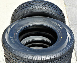 2 Tires Transeagle St Radial Ii Steel Belted St 205 75r15 Load E 10 Ply Trailer