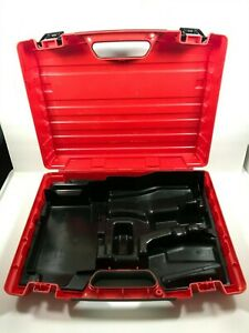 Hilti Sfh 18 a Drill Tools Plastic Hard Case Only Used Good Condition