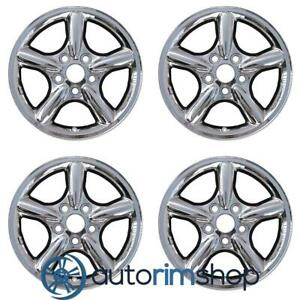 New 17 Replacement Wheels Rims For Jeep Grand Cherokee 2001 2004 Set Chrome