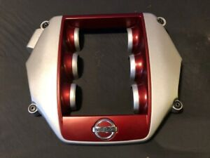 Nissan Skyline Genuine R35 Gt R Late Engine Cover Wine Red Gtr From Japan