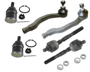Steering Parts Inner Outer Tie Rods Ends Lower Ball Joints For Acura El Integra