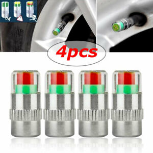 4pcs Car Precise Tire Pressure Monitoring Valve Tyre Safety Warning Indicator