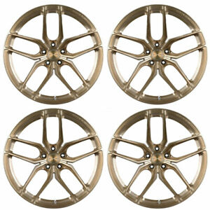 20 Stance Sf03 Bronze Forged Concave Wheels Rims Fits Infiniti Q50 Sedan