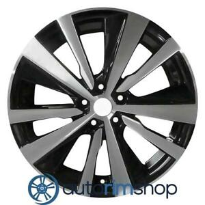 New 19 Replacement Rim For Nissan Altima 2019 2020 Wheel Machined With Black