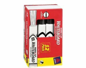 Avery Marks a lot Whiteboard Dry Erase Marker Chisel Marker Point Style