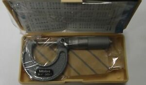 Mitutoyo 103 135 Micrometer 0 1 0001 W Case And Instructions Japan