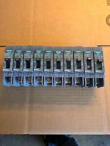 Lot Of 10 Bqd120 Siemens Circuit Breaker 1pole 20 Amp 277v 14ka New No Box