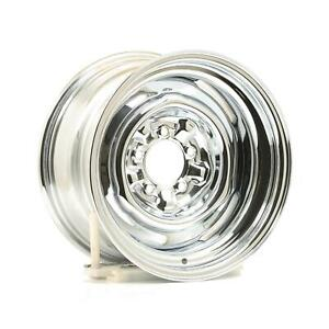 Wheel Vintiques 64 Series Ford Chevy Style O E Chrome Wheel 15 X8 5x4 5 Pair