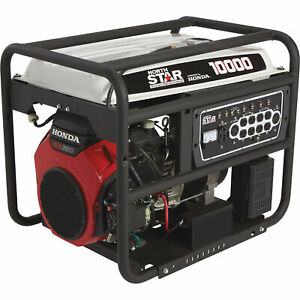 Northstar Generator 10 000 Surge Watts 8500 Rated Watts Electric Start