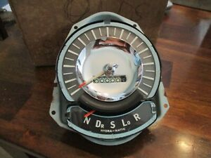 1955 1954 Oldsmobile Gm Hydra Matic Speedometer P M