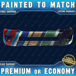 New Painted To Match Front Bumper Cover Replacement For 2006 2009 Toyota 4runner