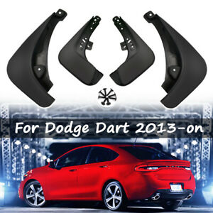 Xukey 4pcs Mud Flaps For Dodge Dart 2013 2016 Mudguards Splash Guards Mudflaps