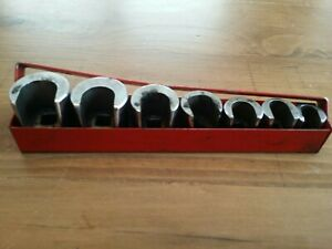 Mac Tools 7 Piece Weatherhead Socket Set Sae Fittings Hydraulic Line Deisel