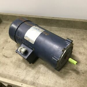 Leeson 108023 00 Dc Motor Voltage 180vdc Zs56c Shaft 0 625 1750rpm 1hp
