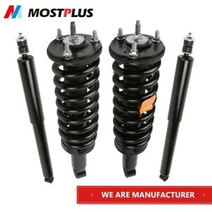 Set 4 Struts Shock Absorbers Assembly For 2000 2006 Toyota Tundra Front rear