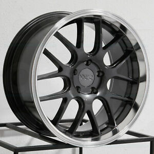 18x9 Xxr 530d 5x114 3 20 Graphite Ml Wheels Rims Set 4