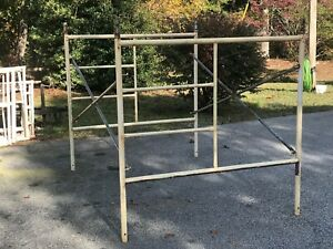 6 5 X 5 X 7 Scaffold Sections 12 Ladder Frames 12 Cross Braces 24 Pins