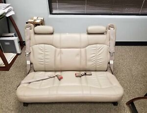 2002 Suburban Rear Bench Seat Tan Good Condition