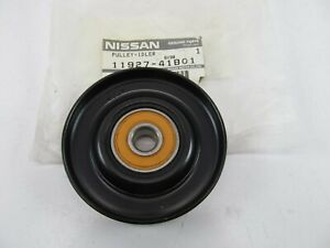 Nos Oem Belt Idler Pulley W bearing 1192741b01 For 94 96 Q45 88 94 Maxima