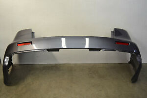Mitsubishi Lancer Evo X Rear Bumper Cover Panel Grey Evolution 10 Oem 2008 2015