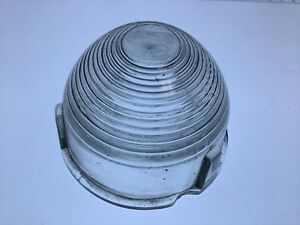 Vintage Glass Lens Turn Signal Parking Lamp Guide F 19 Chevrolet 1949 1950 Chevy