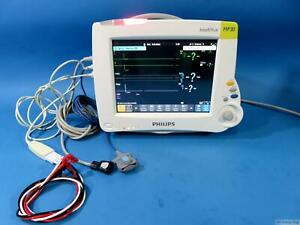Philips Intellivue Mp20 Patient Monitor M8001a 862134 M3001a Module